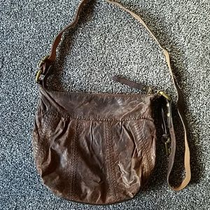 Fossil Genuine Leather Crossbody Bag